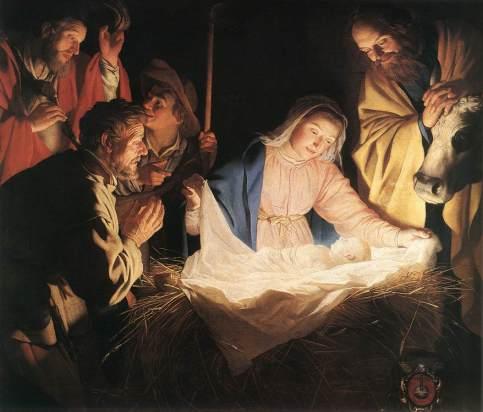 Gerrit van Honthorst - Adoration of the Shepherds