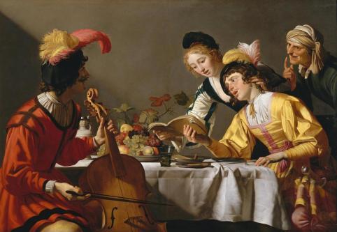 Gerrit van Honthorst - Concert