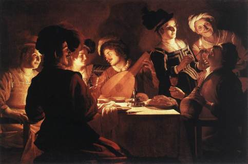 Gerrit van Honthorst - Supper Party