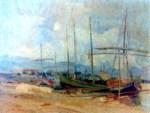 Jean Alexandru Steriadi - Corăbii în port