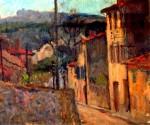 Jean Alexandru Steriadi - Peisaj cu case