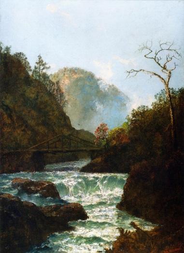 Ralph Blakelock - Pawpack Falls, Hawley, Pennsylvania