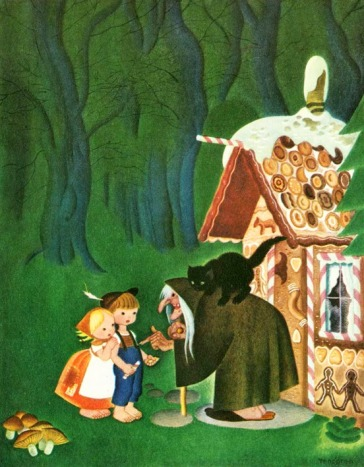 Gustaf Tenggren - Hansel und Gretel