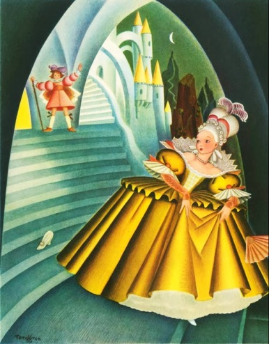 Gustaf Tenggren - Cinderella