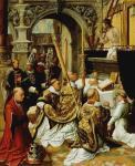 Adriaen Isenbrandt - Mass of Saint Gregory Great
