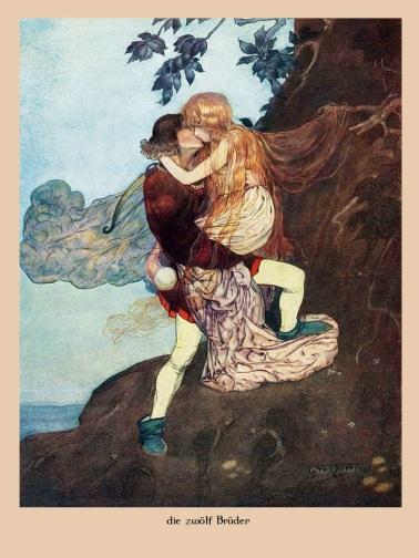 Gustaf Tenggren - Die zwölf Brüder
