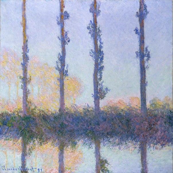 Claude Monet - The Four Trees