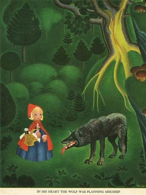 Gustaf Tenggren - Little Red Riding Hood