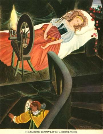 Gustaf Tenggren - Sleeping Beauty