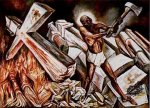 José Clemente Orozco - Cristo Destruye Su Cruz