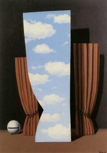René Magritte - La Joconde, 1960