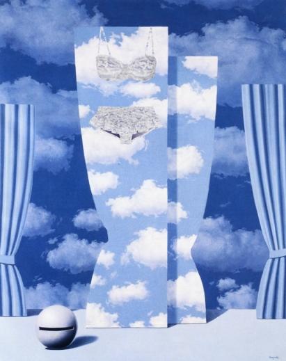 René Magritte - La peine perdue