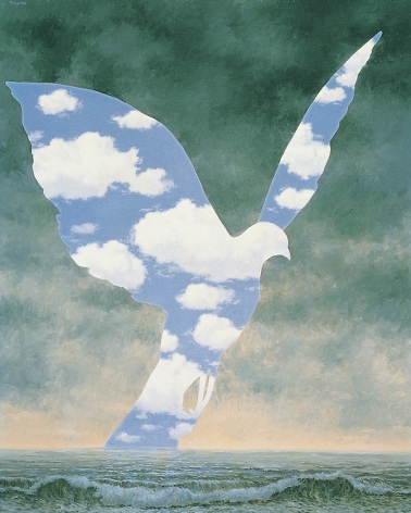 René Magritte - The Big Family,1963