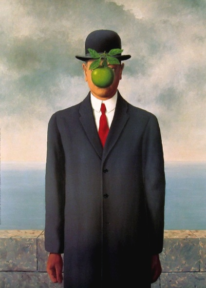 René Magritte - The Son of Man