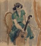 Henri Catargi - Femeie cu chitara