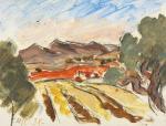 Henri Catargi - Peisaj din Provence
