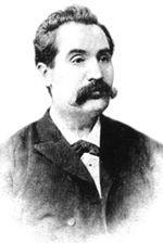 Mihai Eminescu, fotografie de Jean Bieling, Botoşani, 1887-1888