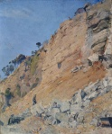 Tom Roberts - The Quarry, Maria Island, 1926