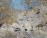 Tom Roberts - Thunderbolt at Paradise Creek, 1894