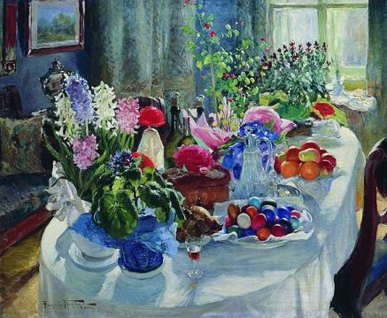 Aleksandr Makovsky - Easter Table