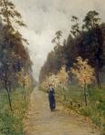 Isaac Levitan - Autumn day. Sokolniki. 1879