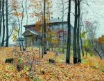 Isaac Levitan - Autumn. Manor