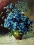Isaac Levitan - Cornflowers