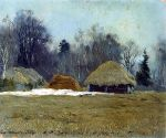 Isaac Levitan - Early spring. 1892