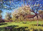 Isaac Levitan - Flowering orchard