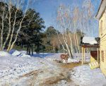 Isaac Levitan - March, 1895