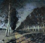 Isaac Levitan - Moonlight