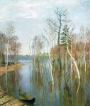 Isaac Levitan - Spring, High Water