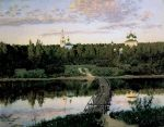 Isaac Levitan - The Quite Choister