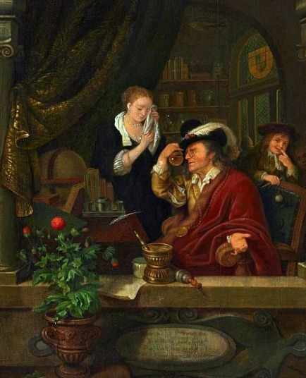 Willem van Mieris - The Doctor