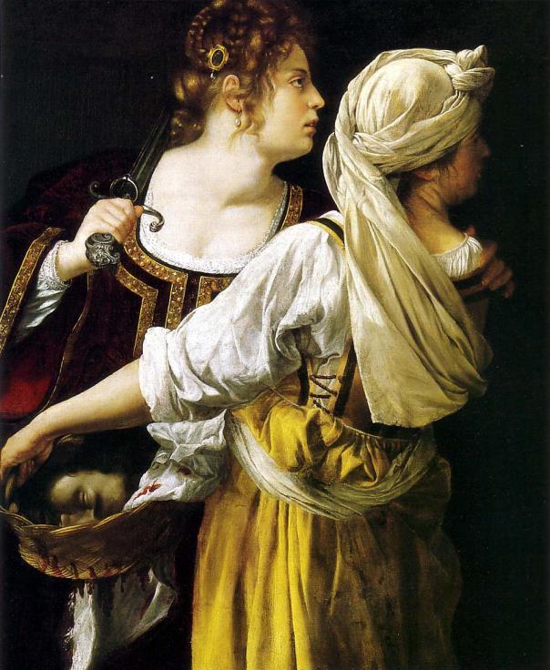 Artemisia Gentileschi - Judith and her Maidservant