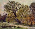 Maxime Maufra - Autumn, Fontainebleau Forest.