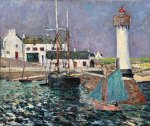 Maxime Maufra - Phare Port Haliguen