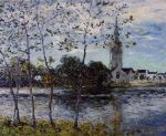 Maxime Maufra - The Banks of the Pond at Rosporden, Finistere.