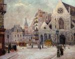 Maxime Maufra - The Church of Saint Nicolas of the Fields, rue Saint Martin .