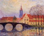 Maxime Maufra - The Leguenay Bridge, Bruges.