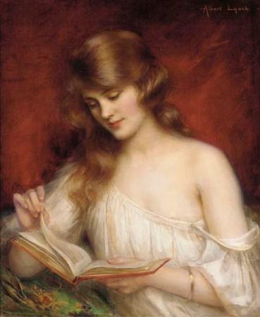 Albert Lynch - A Quiet Read