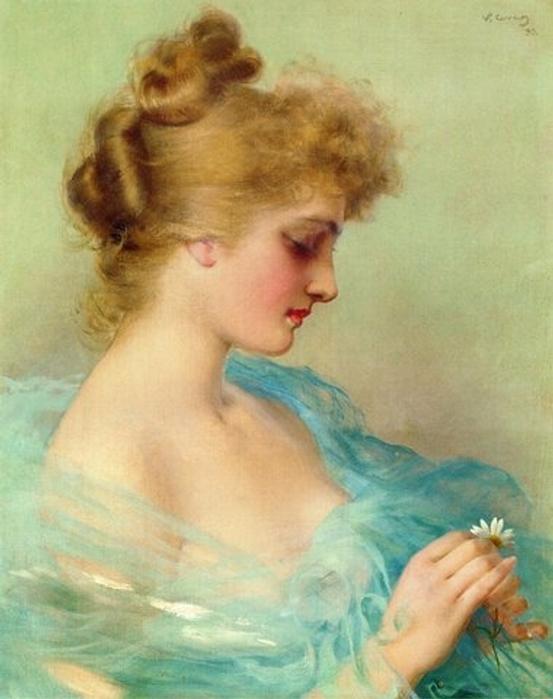 Albert Lynch - Portrait de Femme (Portrait of Woman)