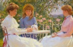 Gregory Frank Harris - Afternoon in the Rose Garden