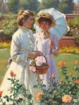 Gregory Frank Harris - Sunlight and Roses