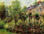 Pierre-Auguste Renoir - Rose Garden at Wargemont