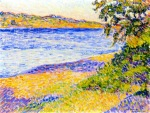 Theo van Rysselberghe - Banks of the Argens at Saint-Aygulf