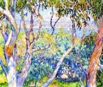 Theo van Rysselberghe - Eucalyptus, at Saint-Tropez.