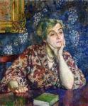 Theo van Rysselberghe - Maria van Rysselberghe in Jersey