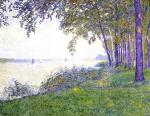 Theo van Rysselberghe - The Scheldt upstream from Antwerp. After the Fog.