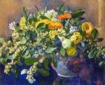 Theo van Rysselberghe - Vase of Flowers- 1923.